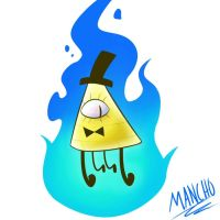 Bill Cipher  by Manncho