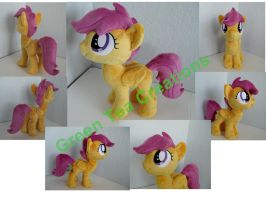 Scootaloo plush by GreenTeaCreations