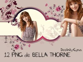 Pack 12 PNG de bella thorne by destinity-cyrus