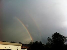 Double Rainbow II by m-angel05