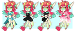 [C] hookiespookie outfit refs by Pikapaws