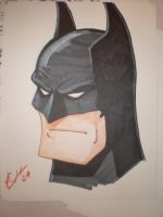 Batman con Sketch by Artassassin