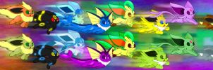 Eight and Eight Vees Per Hour by RiuAuraeon