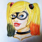 Harley Quinn by WhiteWillow13