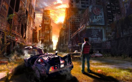 Back to the Future by rcorron