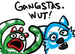 yo gabba gangstas by Belosh