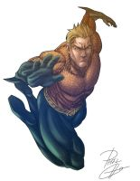 Aquaman by phil-cho