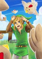 Back off cucco! by staypee