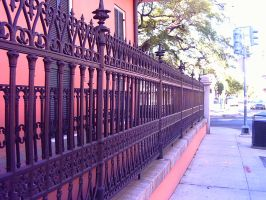 Fence On Royal in NOLA by twofortheprice