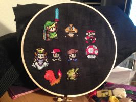 Behold! The world's nerdiest cross-stitch hoop. by Zchanning