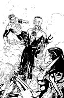 Green Lantern 53_14 by MarkIrwin