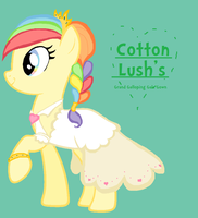 Cotton Lush's Grand Galloping Gala Gown by ZumbaZyn