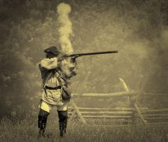 musket man by Mjag