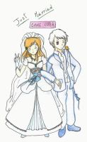 Prussia Hungary - Just Married by Bazylyk19