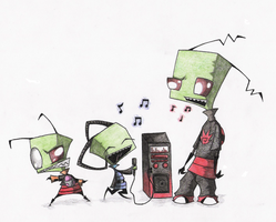Rock On, Honorable Ones by Zim-0f-Irk