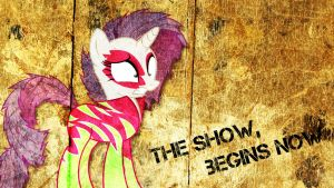 The show,begins now - Wallpaper Rarity by Amoagtasaloquendo