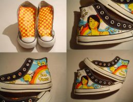 Painted Converse by Engelen