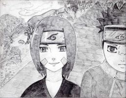 Rin and Obito by rediceRyan2