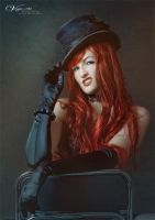 The black hat by VenjaPhotography