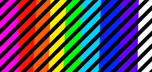 Rainbow Stripes by lag111