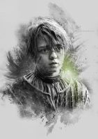 Arya Stark - Game of Thrones by Etienne-Ripzaad