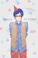 happy birthday rei!! by scarfboyfriends