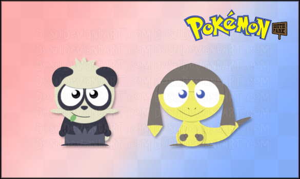 Pancham and Helioptile - Pokemon SP by Dosu