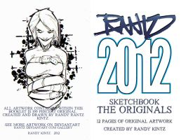 COVER ART for the ORIGINALS Sketchbook by rantz