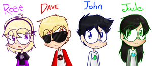 Those Meddiling Homestuck Kids... by IZfan4life