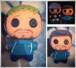 Youtubers - JackSepticEye Plushie 2.0 by Jack-O-AllTrades