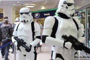 Patrolling Stormtroopers by Peachey-Photos