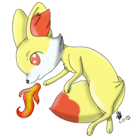 Fennekin by CollectionOfWhiskers