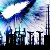 Blue Industry CD Cover by arontd