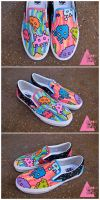 Space Invaders Shoes by mburk