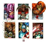 Marvel heroes and villains 5 by MelikeAcar
