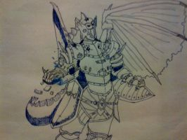dragon knight by iCrown2354