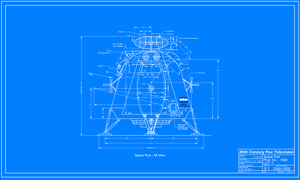 SS-Space Pod Aft View by Coder-Bob