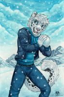 Snowball Attack by DolphyDolphiana