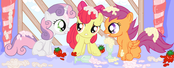 CMC(we aren't lookin' for a figt) by XxsilvixX