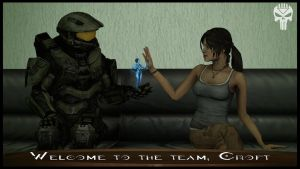 Welcome To The Team, Croft by Blackcell8