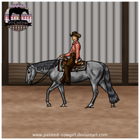 Contessa - RHS Western Pleasure by painted-cowgirl