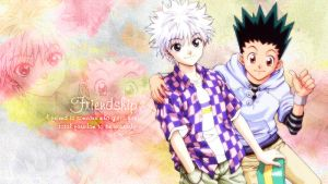 Friendship - Killua and Gon by Aile-du-Ciel