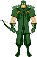 MyDCU: Green Arrow by BSDigitalQ