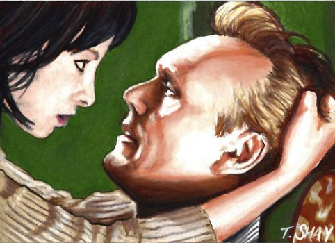 Buffy sketch-Jenny and Giles by Dr-Horrible