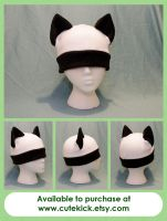 Panda Cat Hat by cutekick
