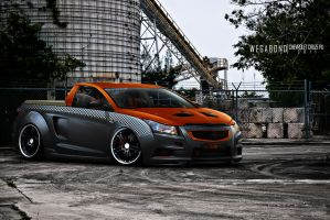 Chevrolet Cruze by wegabond