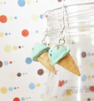 icecream earring 0 by PetiteCreation