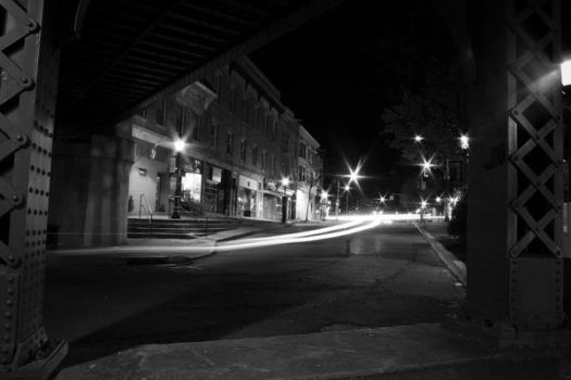 Downtown at night by Keith-D
