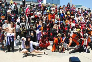 Naruto Gathering: EVERYONE, part 3 by miss-a-r-t