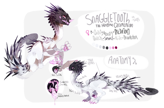 myo chimereon - snaggletooth by Tevros
